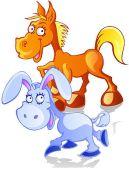 El-caballo-y-el-asno